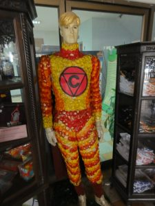 Super hero known as Condom Man